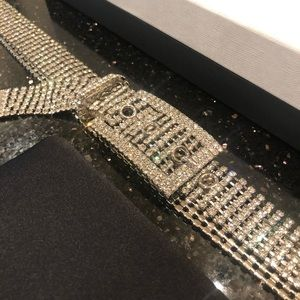 Miu Miu Cinture Crystal Belt